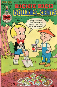 Cover Thumbnail for Richie Rich Dollars and Cents (Harvey, 1963 series) #70
