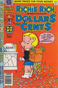 Cover Thumbnail for Richie Rich Dollars and Cents (Harvey, 1963 series) #93