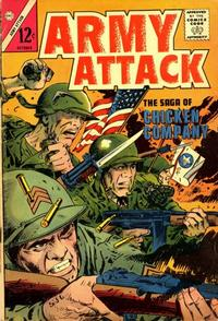 Cover Thumbnail for Army Attack (Charlton, 1964 series) #2
