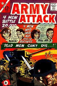 Cover Thumbnail for Army Attack (Charlton, 1965 series) #39