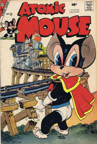Cover Thumbnail for Atomic Mouse (Charlton, 1953 series) #24