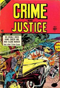 Cover Thumbnail for Crime and Justice (Charlton, 1951 series) #2