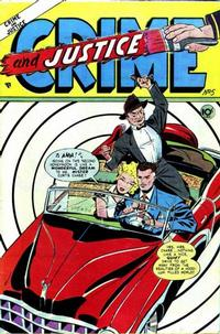 Cover Thumbnail for Crime and Justice (Charlton, 1951 series) #5