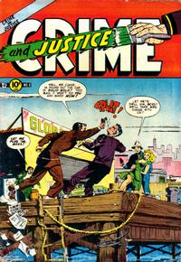 Cover Thumbnail for Crime and Justice (Charlton, 1951 series) #8