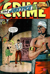 Cover Thumbnail for Crime and Justice (Charlton, 1951 series) #13