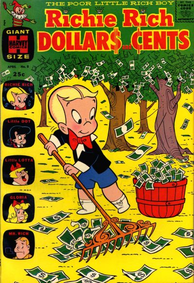 Cover for Richie Rich Dollars and Cents (Harvey, 1963 series) #8