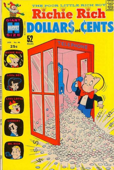 Cover for Richie Rich Dollars and Cents (Harvey, 1963 series) #46