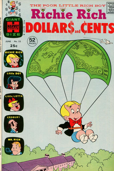 Cover for Richie Rich Dollars and Cents (Harvey, 1963 series) #55