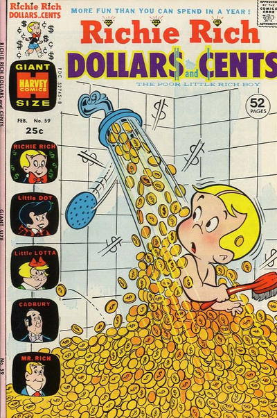 Cover for Richie Rich Dollars and Cents (Harvey, 1963 series) #59