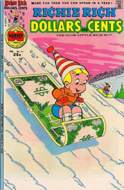 Cover for Richie Rich Dollars and Cents (1963 series) #71