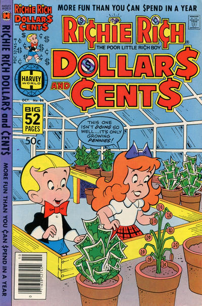 Cover for Richie Rich Dollars and Cents (Harvey, 1963 series) #88