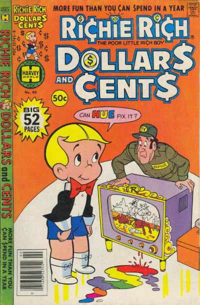 Cover for Richie Rich Dollars and Cents (Harvey, 1963 series) #90