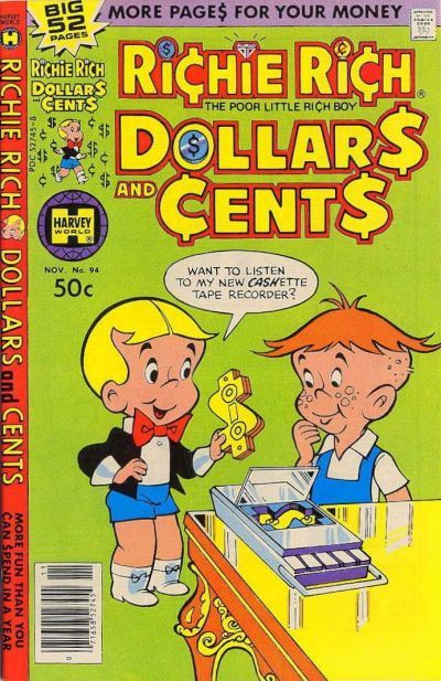 Cover for Richie Rich Dollars and Cents (Harvey, 1963 series) #94