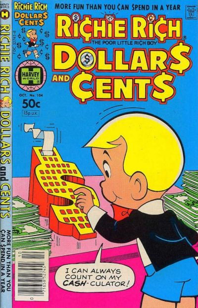 Cover for Richie Rich Dollars and Cents (Harvey, 1963 series) #104