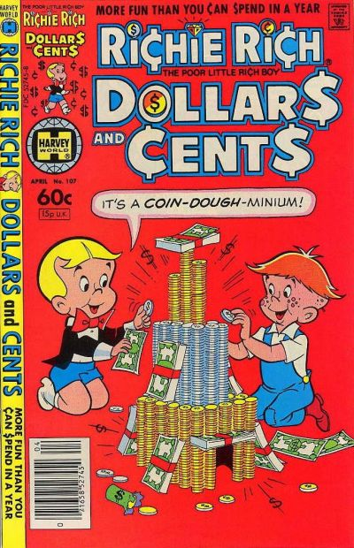 Cover for Richie Rich Dollars and Cents (Harvey, 1963 series) #107