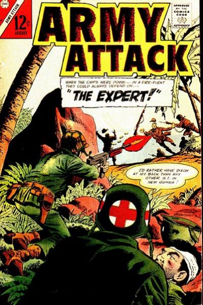 Cover for Army Attack (1965 series) #44