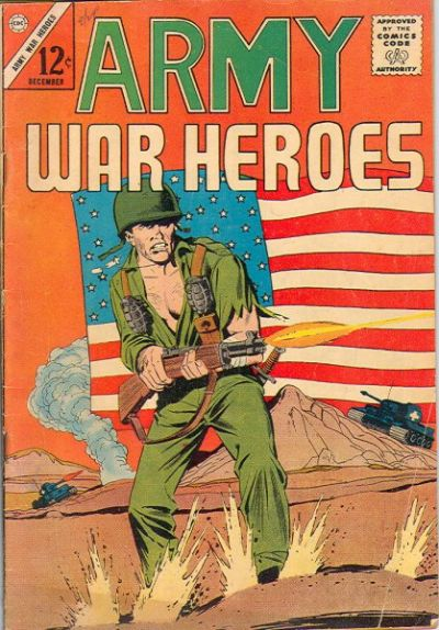 Cover for Army War Heroes (1963 series) #1