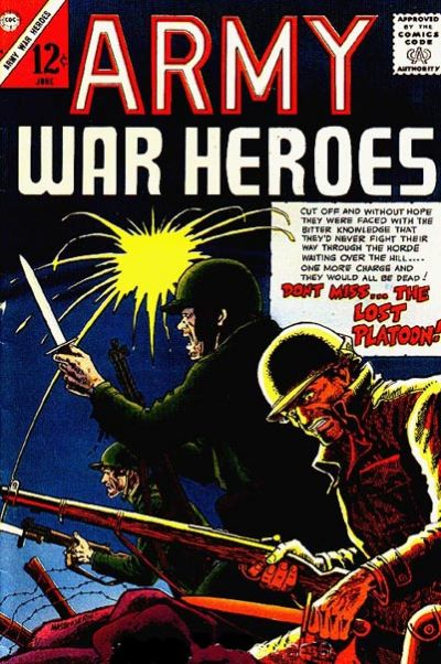 Cover for Army War Heroes (1963 series) #14