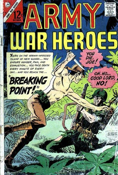 Cover for Army War Heroes (1963 series) #16