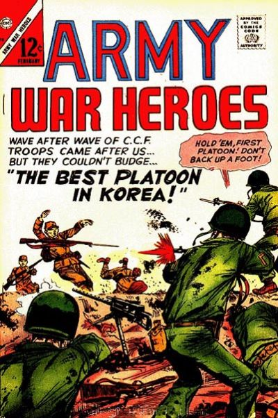 Cover for Army War Heroes (1963 series) #18