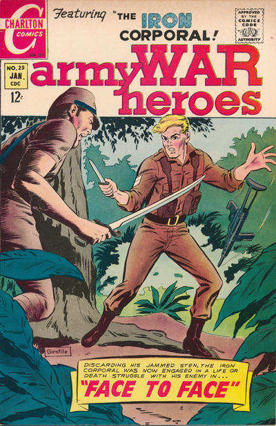 Cover for Army War Heroes (1963 series) #29