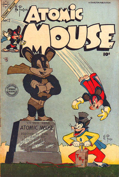Cover for Atomic Mouse (1953 series) #12