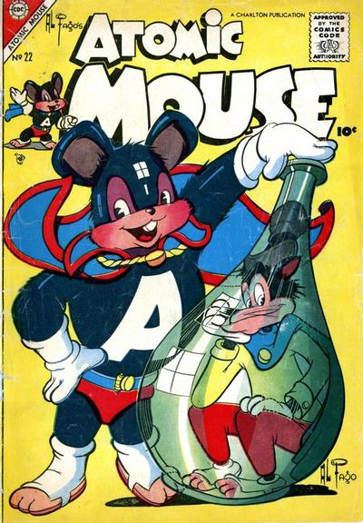 Cover for Atomic Mouse (Charlton, 1953 series) #22