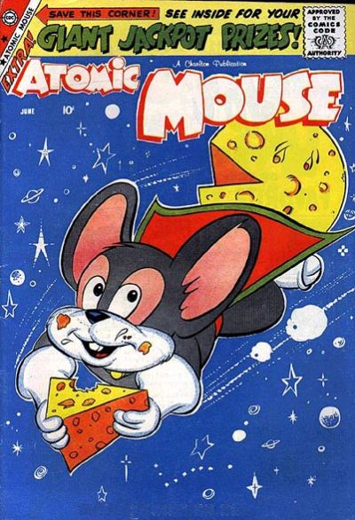 Cover for Atomic Mouse (Charlton, 1953 series) #31