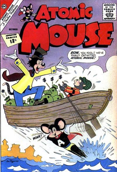Cover for Atomic Mouse (Charlton, 1953 series) #50