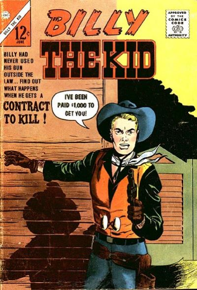 Cover for Billy the Kid (1957 series) #40