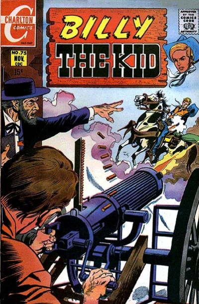 Cover for Billy the Kid (1957 series) #75