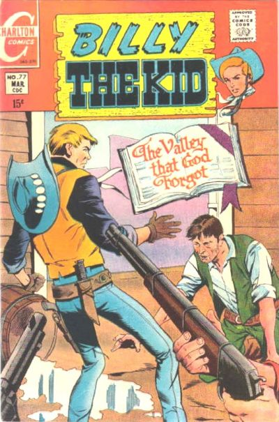 Cover for Billy the Kid (Charlton, 1957 series) #77