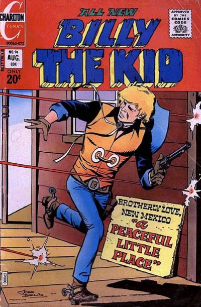 Cover for Billy the Kid (Charlton, 1957 series) #94