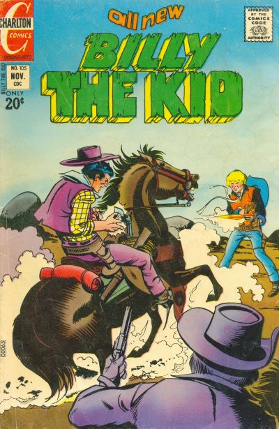 Cover for Billy the Kid (Charlton, 1957 series) #105