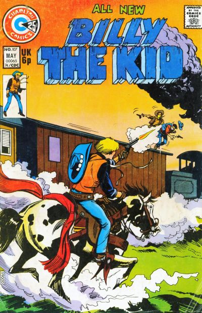 Cover for Billy the Kid (Charlton, 1957 series) #107