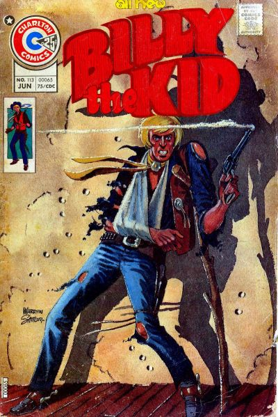 Cover for Billy the Kid (Charlton, 1957 series) #113