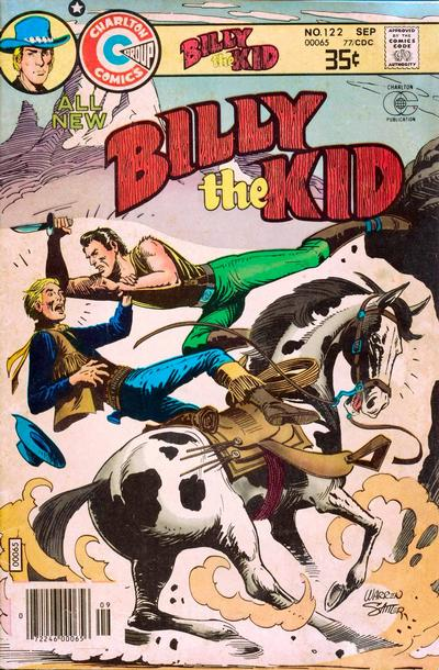 Cover for Billy the Kid (Charlton, 1957 series) #122