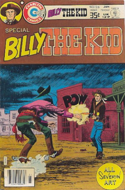 Cover for Billy the Kid (Charlton, 1957 series) #126