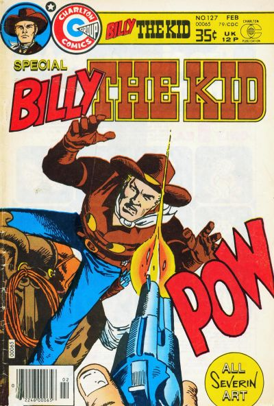 Cover for Billy the Kid (Charlton, 1957 series) #127