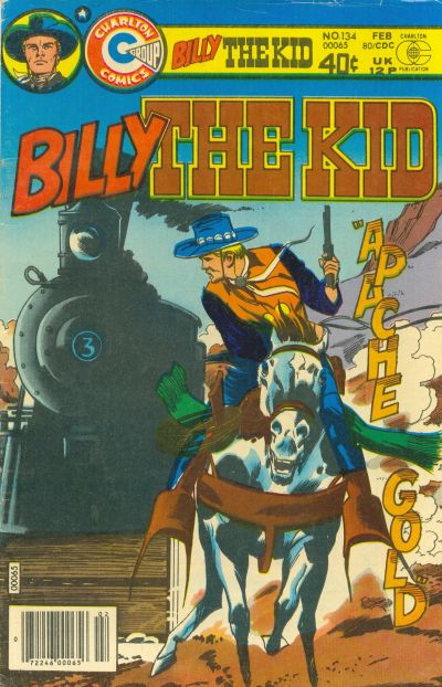 Cover for Billy the Kid (Charlton, 1957 series) #134