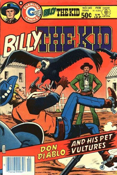 Cover for Billy the Kid (Charlton, 1957 series) #140