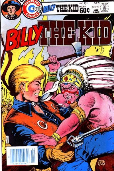 Cover for Billy the Kid (Charlton, 1957 series) #151