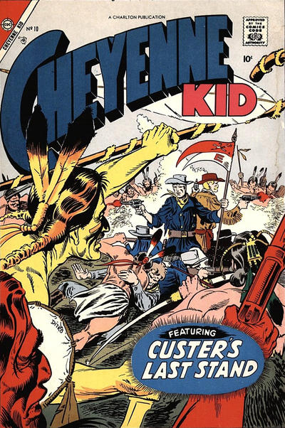 Cover for Cheyenne Kid (Charlton, 1957 series) #10
