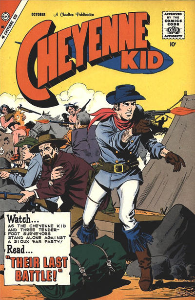 Cover for Cheyenne Kid (Charlton, 1957 series) #19
