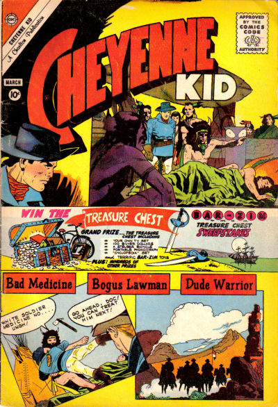 Cover for Cheyenne Kid (1957 series) #27