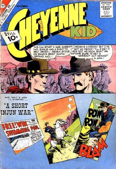 Cover for Cheyenne Kid (Charlton, 1957 series) #30