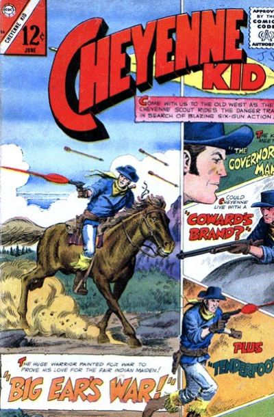 Cover for Cheyenne Kid (Charlton, 1957 series) #56