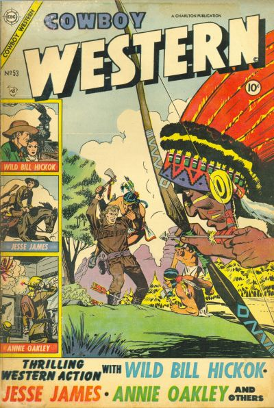 Cover for Cowboy Western (Charlton, 1954 series) #53