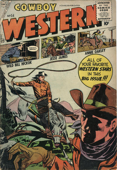Cover for Cowboy Western (Charlton, 1954 series) #54