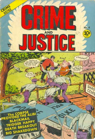 Cover for Crime and Justice (Charlton, 1951 series) #4